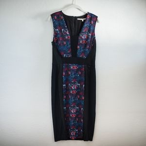 NWOT RACHEL Rachel Roy Mixed Media Midi